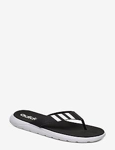 Comfort Flip-Flops - sport schoenen - cblack/ftwwht/cblack