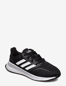 RUNFALCON K - lave sneakers - cblack/ftwwht/cblack