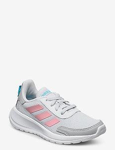 TENSAUR RUN K - sneakers - dshgry/glopnk/brcyan