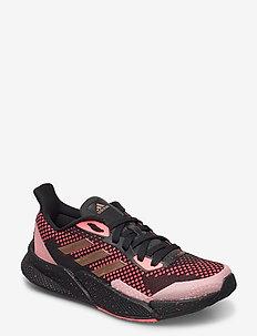 x9000L2 W - low top sneakers - cblack/coppmt/sigpnk