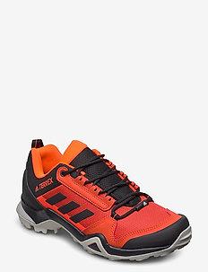 TERREX AX3 - buty na wędrówki - gloamb/cblack/solred