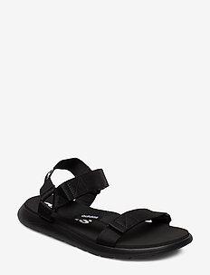 Comfort Sandals - vaellussandaalit - cblack/cblack/ftwwht