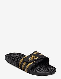 ADISSAGE - gender neutral - cblack/goldmt/cblack