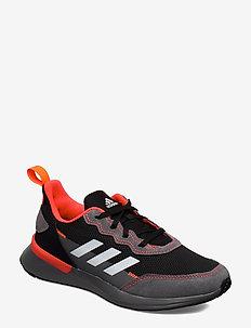 RapidaRun Elite J - sneakers - cblack/ftwwht/solred