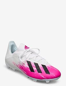 X 19.3 FG - buty piłkarskie - ftwwht/cblack/shopnk