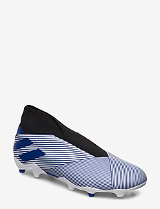 NEMEZIZ 19.3 LL FG - football shoes - ftwwht/royblu/cblack