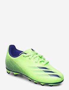 X GHOSTED.4 FxG J - sport shoes - siggnr/eneink/siggnr