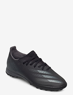 X GHOSTED.3 TF - buty piłkarskie - cblack/gresix/cblack