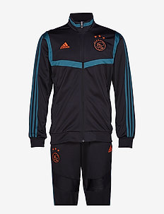 AJAX PES SUIT - BLACK/TECGRN