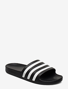 ADILETTE AQUA - gender neutral - cblack/ftwwht/cblack