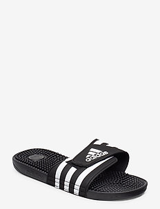 ADISSAGE - pool sliders - cblack/ftwwht/cblack