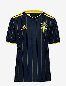 Sweden 20/21 Away Jersey - fotballgensere og -t-skjorter - nindig/yellow