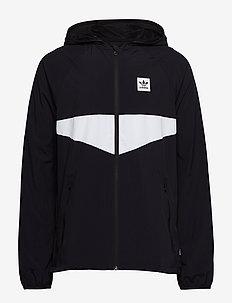 DEKUM PCKBL JKT - BLACK/WHITE