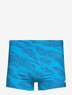 BOXER P.BLUE - szorty kąpielowe - shablu/white