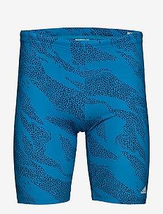JAMMER P.BLUE - szorty kąpielowe - shablu/white