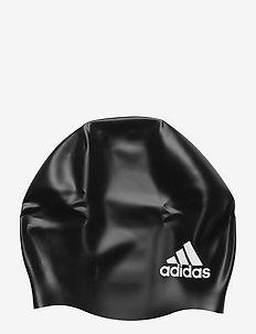 3-Stripes Swimming Cap - svømmetilbehør - black/white
