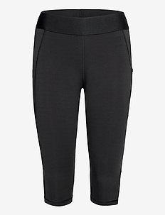 Alphaskin Capri Tights W - running & training tights - black/white