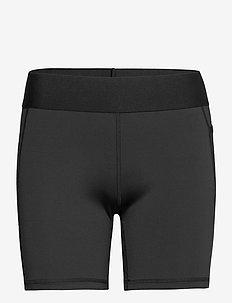 Alphaskin Short Tights W - training korte broek - black/white