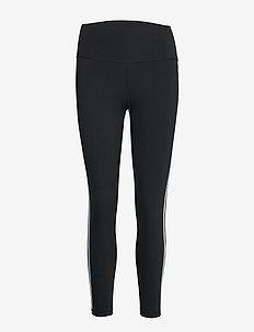 Believe This 2.0 3-Stripes 7/8 Tights W - löpnings- och träningstights - black/white
