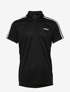 M D2M 3S PO - koszulki polo - black/white