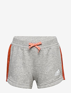 JG A Bold Short - shorts - mgreyh/white