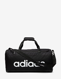 Linear Duffel Bag - salilaukut - black/black/white