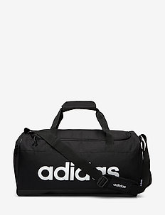 LIN DUFFLE S - trainingstaschen - black/black/white