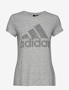 W WINNERS TEE - logo t-shirts - whtmel