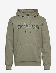 E CAMO LIN SWEA - hoodies - leggrn/black/legivy/p