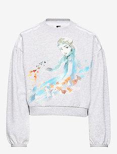 LG DY FRO Sweat - sweatshirts - lgreyh/boaqua