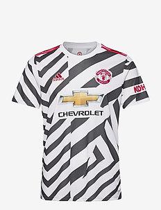 MUFC 3 JSY - voetbalshirts - white/black