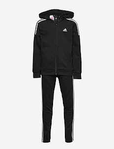 JB COTTON TS - joggingset - black/white