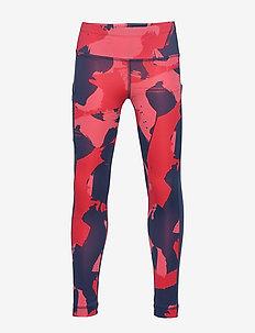 JG TR AOP TIGHT - leggings - panton/corpnk/tecind