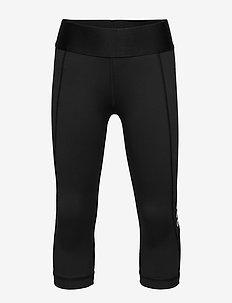 JG TR ASK 3/4 T - leggingsit - black/white