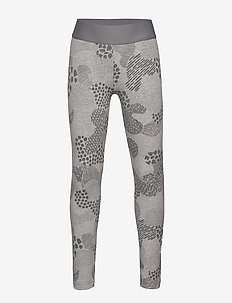 JG MH GRA TIGHT - leggings - mgreyh/grefou/white