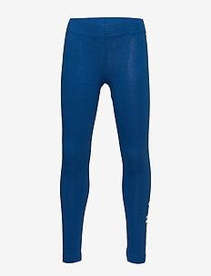 YG E LIN TGHT - leginsy - blue/white