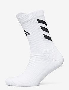 ASK CREW MC - tavalliset sukat - white/black/black