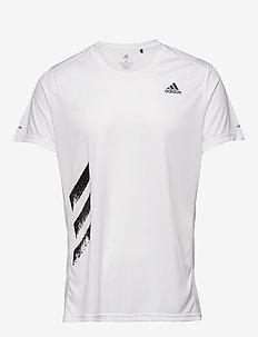RUN IT TEE PB - t-shirts - white