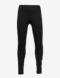 YG E LIN TGHT - leggings - black/glopnk