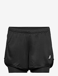 M20 SHORT 2IN1 - trainings-shorts - black