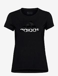 GLAM ON BOS TEE - t-skjorter - black/black
