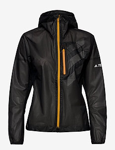 W AGR Rain J - outdoor & rain jackets - black