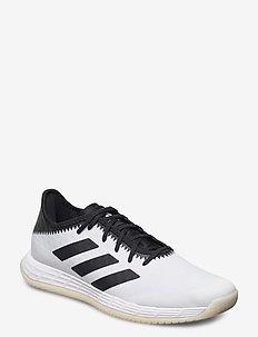 Adizero FastCourt M - training schoenen - ftwwht/cblack/solred