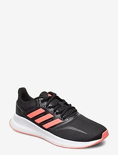 RUNFALCON K - training shoes - cblack/sigpnk/ftwwht