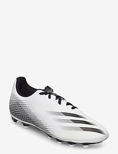 X GHOSTED.4 FxG - football boots - ftwwht/cblack/silvmt