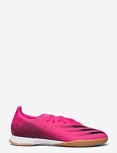 X Ghosted.3 Indoor Boots - fodboldsko - shopnk/cblack/scrora