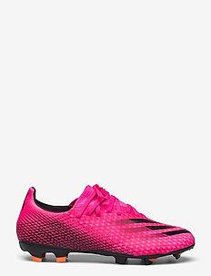 X Ghosted.3 Firm Ground Boots - buty piłkarskie - shopnk/cblack/scrora