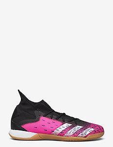 Predator Freak.3 Indoor Boots - fodboldsko - cblack/ftwwht/shopnk