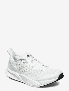 X9000L2 W - low top sneakers - ftwwht/ftwwht/dshgry