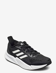 X9000L2 W - running shoes - cblack/ftwwht/grefiv
